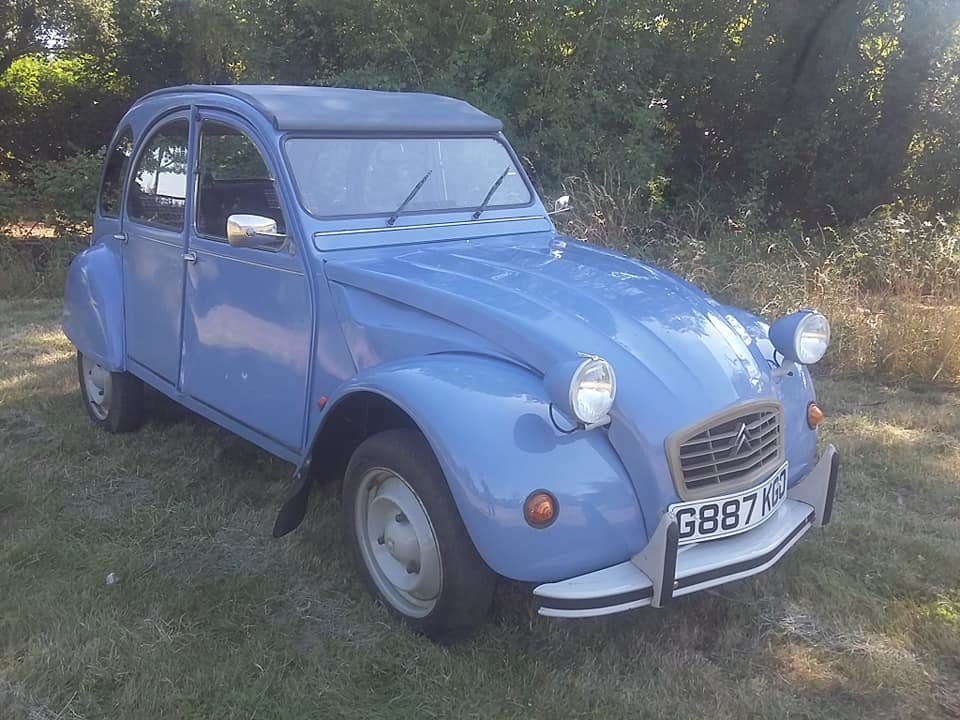 1989 Citroen 2cv6 Special SOLD (picture 1 of 6)
