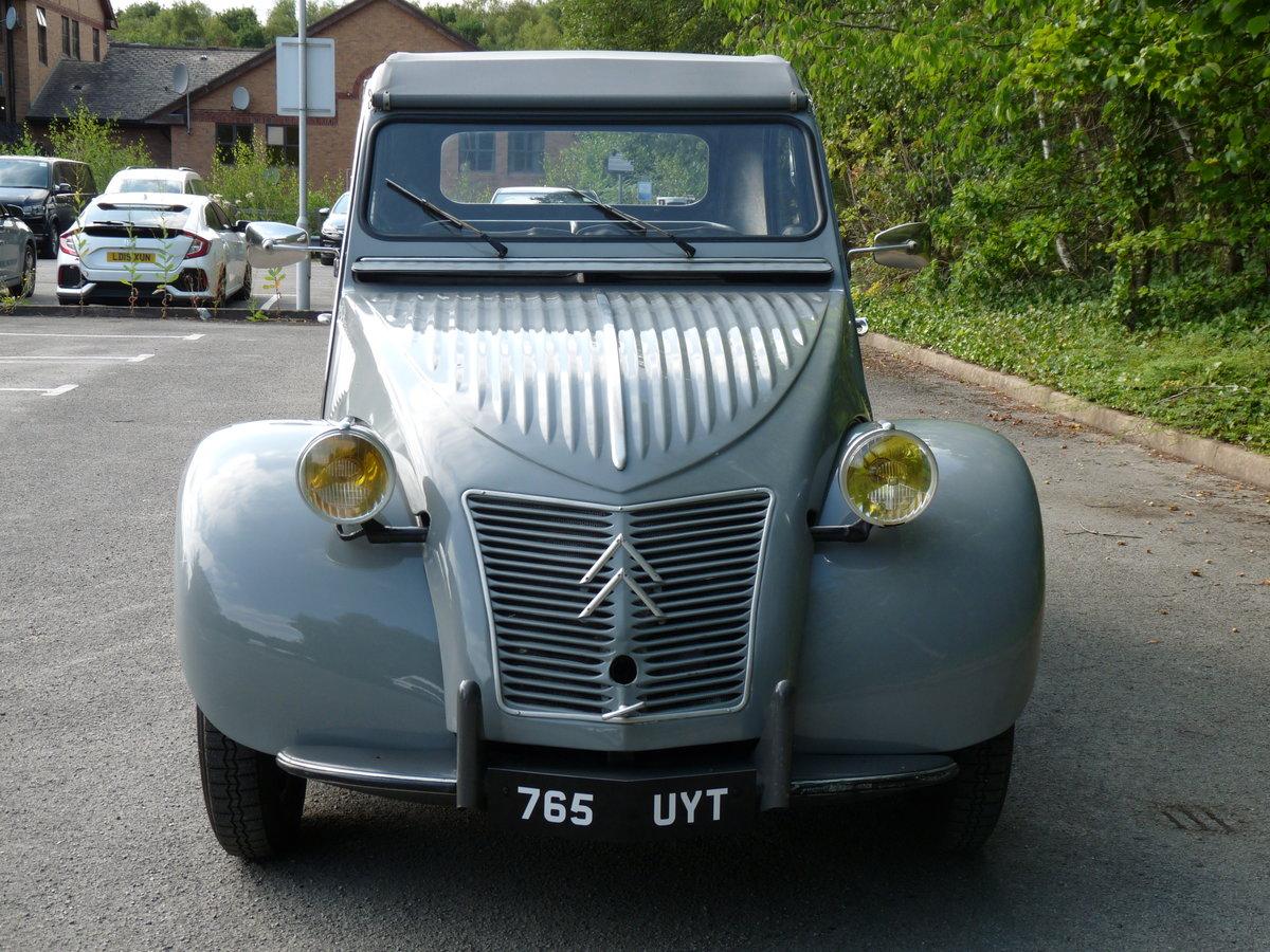 1959 Citroen 2CV Ripple Bonnet AZLP SOLD (picture 2 of 6)