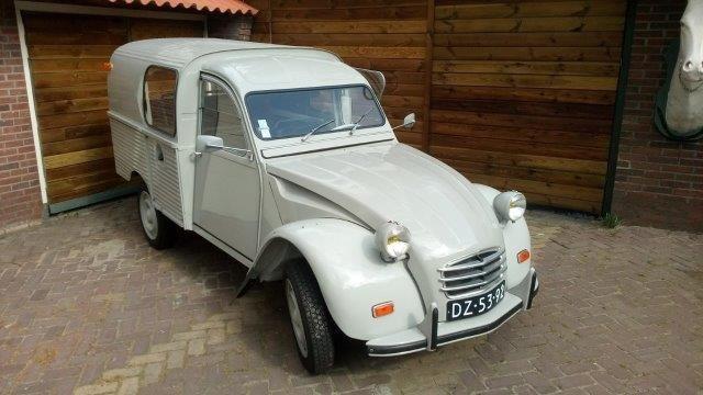 1968 2cv Van Glacauto For Sale (picture 1 of 6)