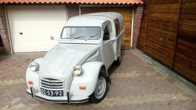 1968 2cv Van Glacauto For Sale (picture 2 of 6)