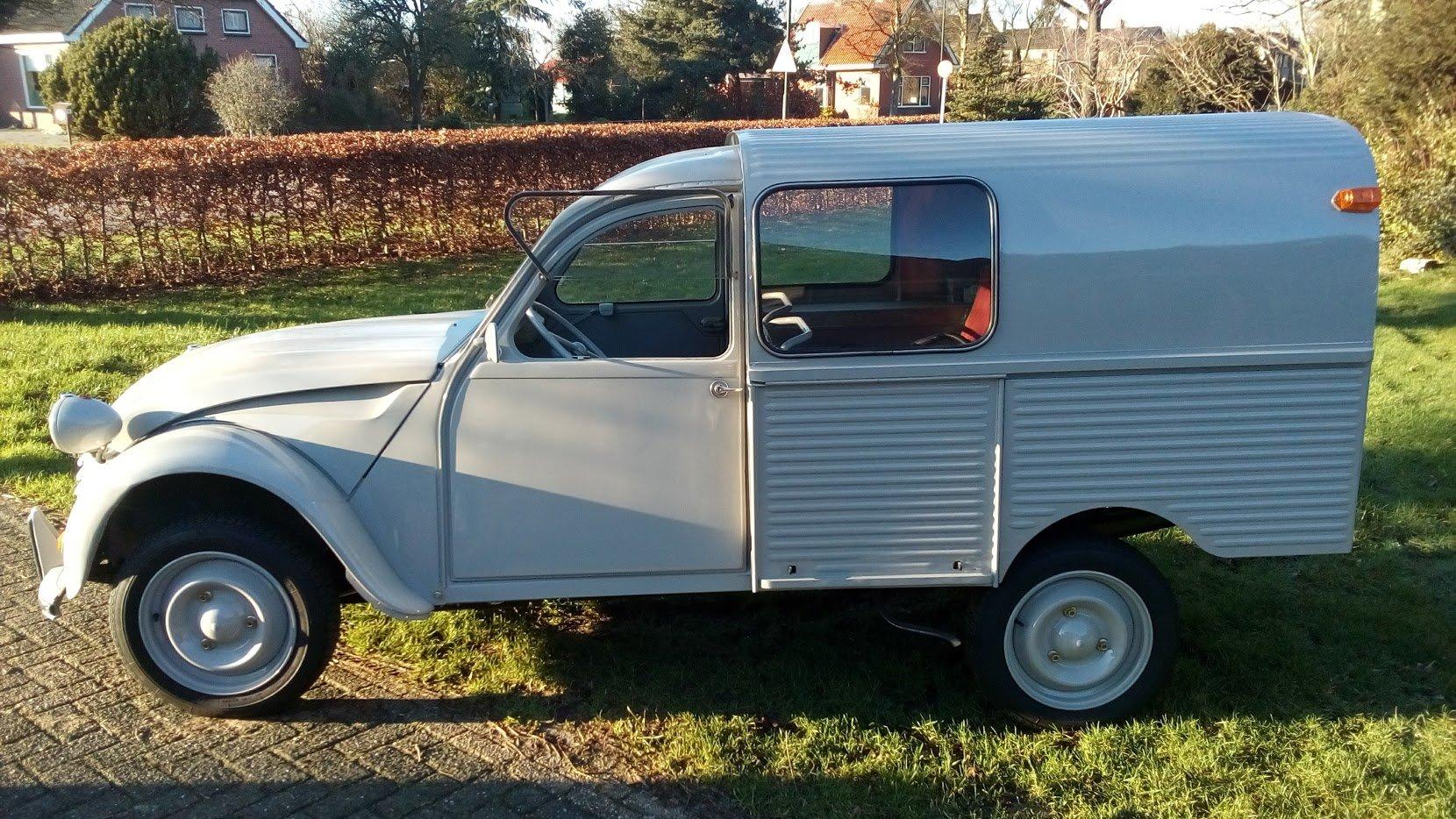1968 2cv Van Glacauto For Sale (picture 3 of 6)