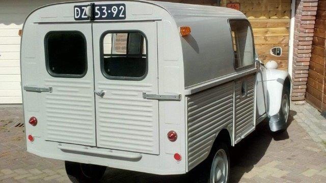 1968 2cv Van Glacauto For Sale (picture 4 of 6)
