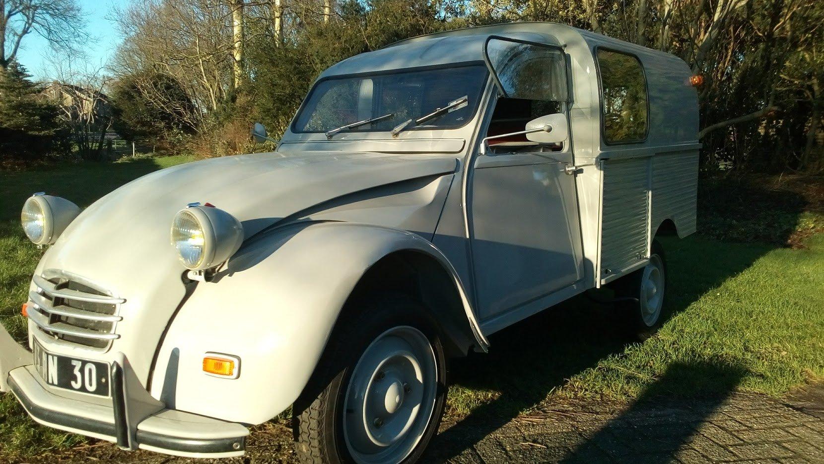 1968 2cv Van Glacauto For Sale (picture 5 of 6)