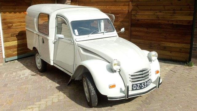 1968 2cv Van Glacauto For Sale (picture 6 of 6)