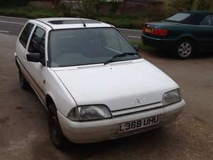 1994 Citroen AX Jive Only 6 left on the road