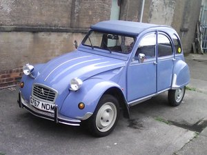 1989 Low mileage Citroen 2CV Special
