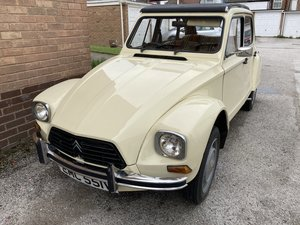 1980 Citroen Dyane RHD in Great Condition