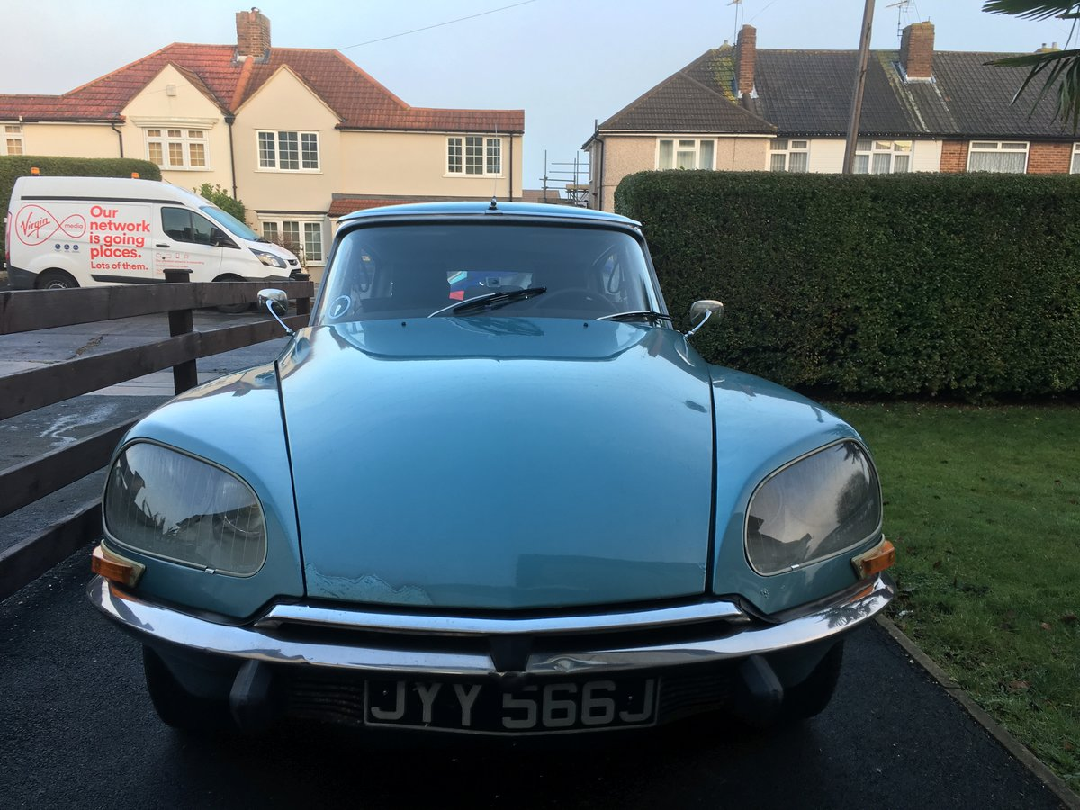 1971 Citroen DS21 Pallas 5-Speed LHD For Sale (picture 2 of 6)
