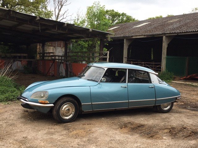 1971 Citroen DS21 Pallas 5-Speed LHD For Sale (picture 1 of 6)