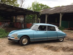 Citroen DS21 Pallas 5-Speed LHD