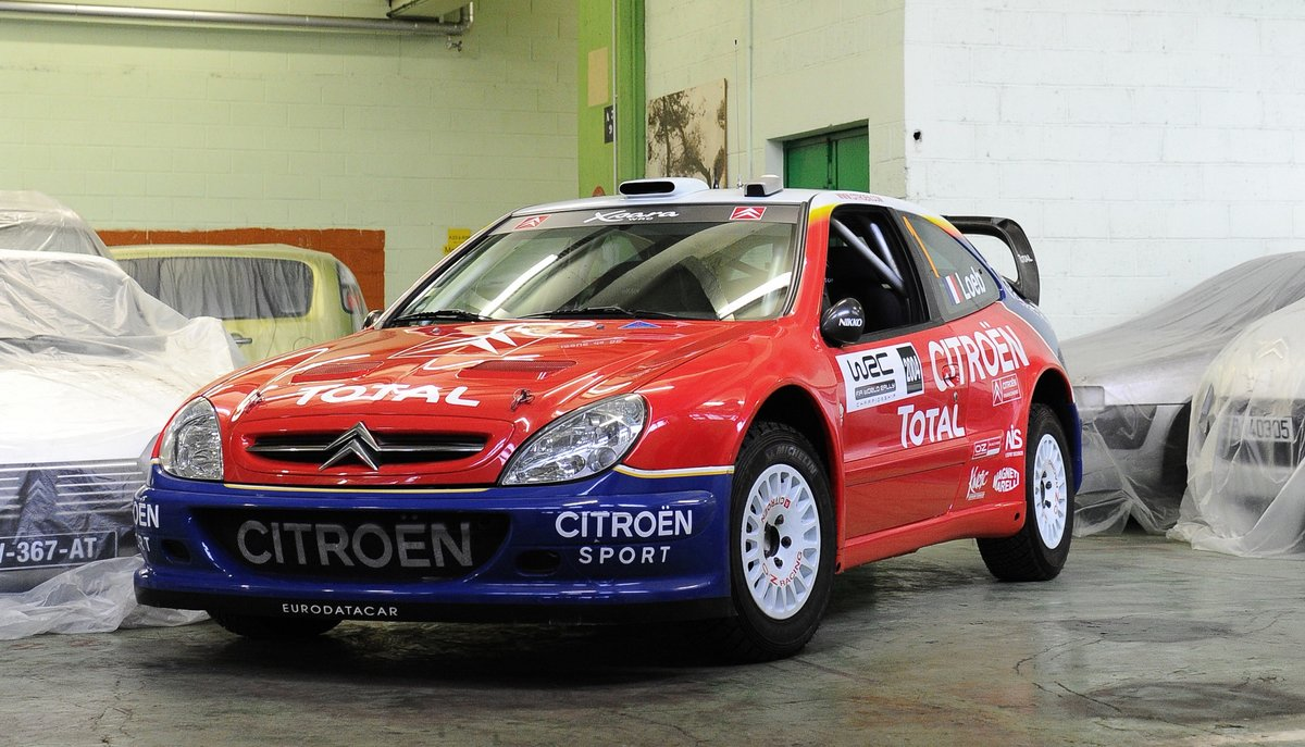 2004 Citroën Xsara WRC Show Car For Sale by Auction (picture 1 of 5)