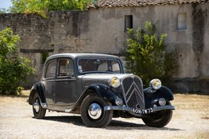 1935 Citroën Traction 7C berline No reserve For Sale by Auction