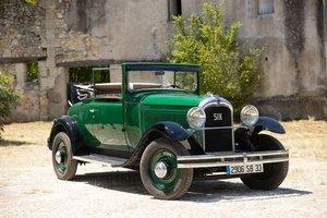 1931  Citroën C6 F cabriolet No reserve