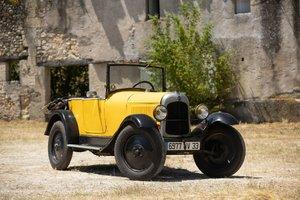 1926 Citroën C3 Trèfle Torpédo No reserve