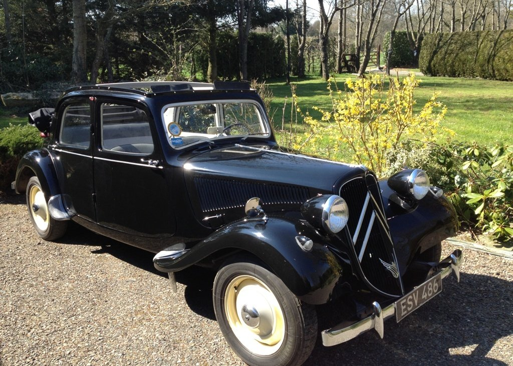 1953 Citron Traction Avant Decouvrable For Sale by Auction (picture 1 of 6)