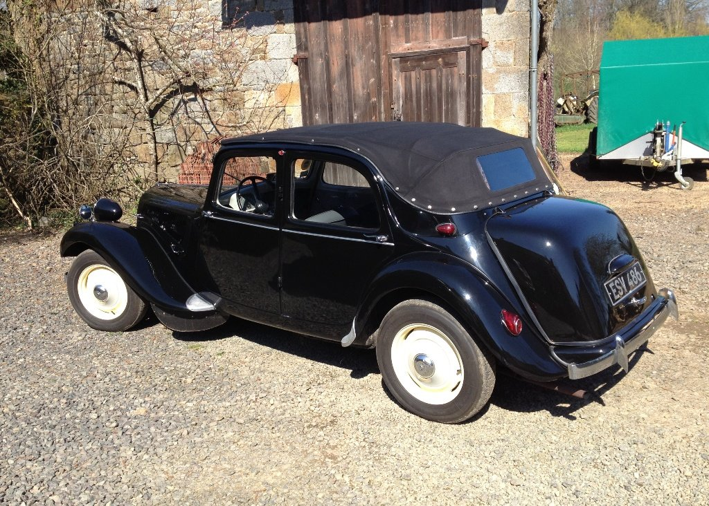1953 Citron Traction Avant Decouvrable For Sale by Auction (picture 2 of 6)
