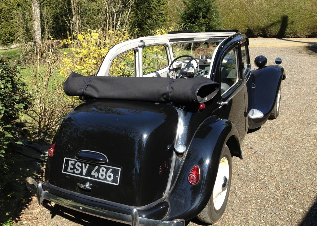 1953 Citron Traction Avant Decouvrable For Sale by Auction (picture 3 of 6)