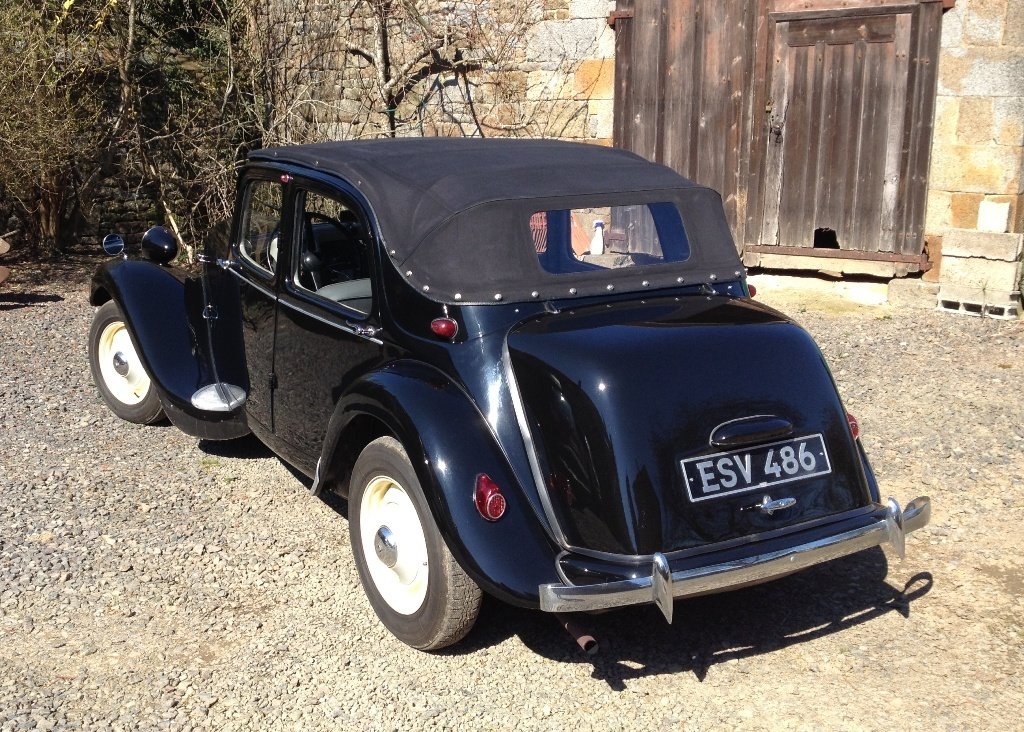 1953 Citron Traction Avant Decouvrable For Sale by Auction (picture 4 of 6)