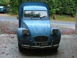 Collectable 2CV AK400 citroen van.