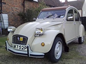 1975 Very rare Belgian built RHD Citroen 2cv6 Club