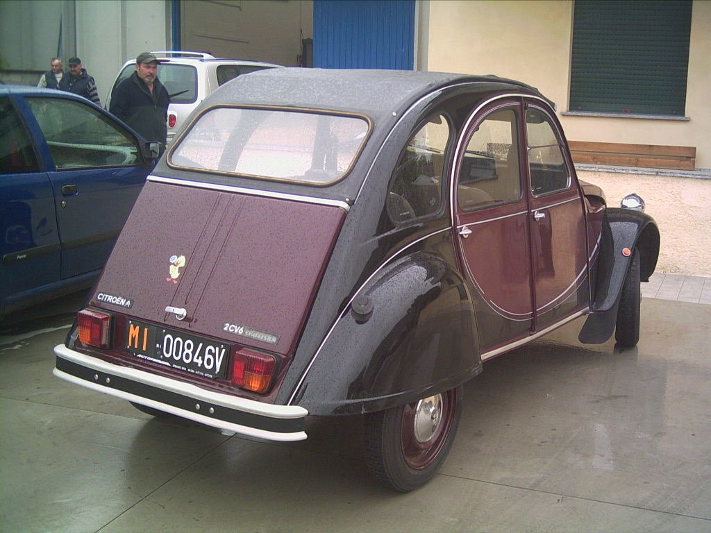 1984 very nice 2cv6 charleston For Sale (picture 4 of 6)