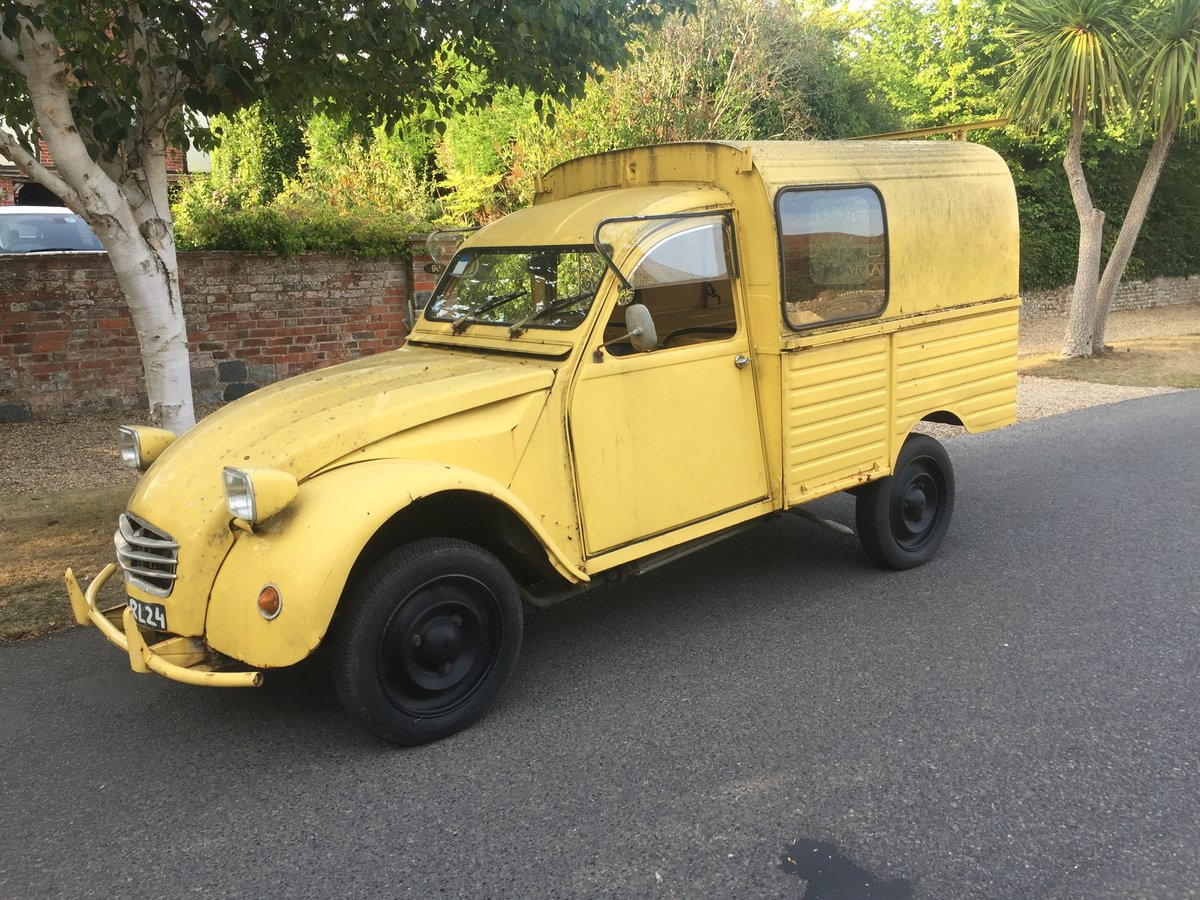 1974 Citroen 2CV. Van For Sale (picture 1 of 6)