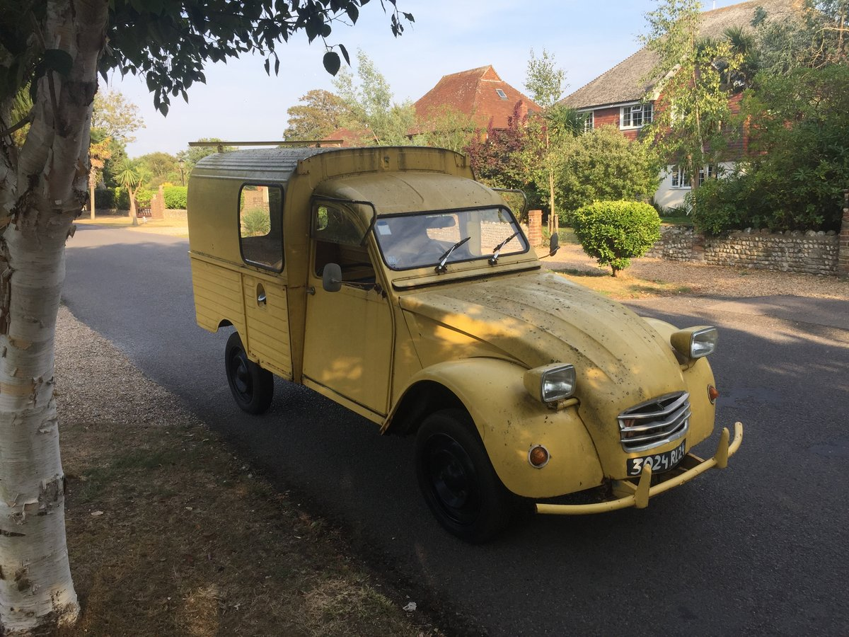 1974 Citroen 2CV. Van For Sale (picture 4 of 6)