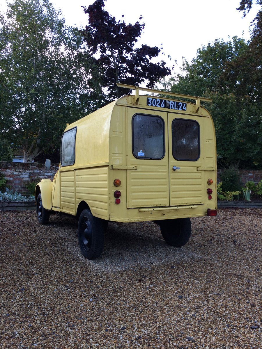 1974 Citroen 2CV. Van For Sale (picture 5 of 6)
