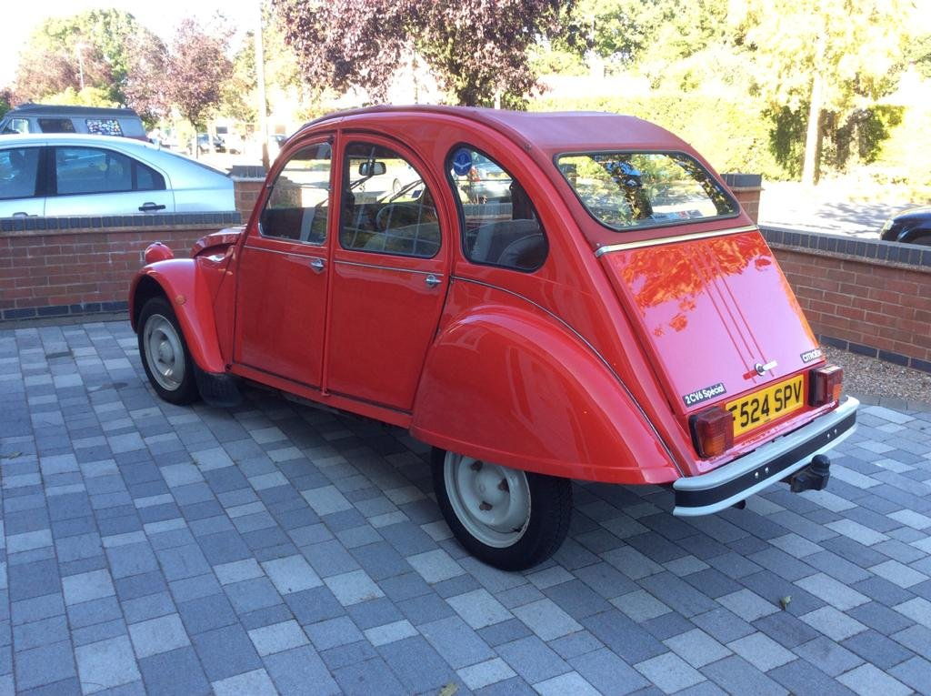 1989 2CV6 Special For Sale (picture 4 of 6)