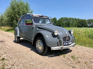 Picture of 2cv Azam Gris Typhon 09-1963 18pk 425cc  51.640 km For Sale
