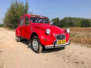 Picture of 2cv6 Rouge vallelunga 03-1986 95.168 km For Sale