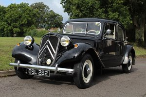 1953 Citroen Traction Avant 11BC 1952 - To be auctioned 30-10-20