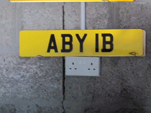 REGISTRATION NUMBER For Sale (picture 1 of 1)