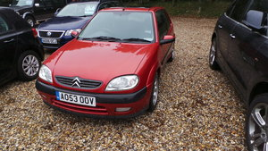 Citroen saxo vtr hot hatch fsh