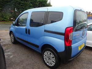 11 NEMO MPV 1.4cc DIESEL SMART USEFUL NEW MOT 108,000 MILES