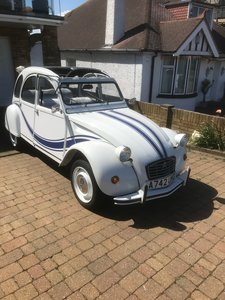 Picture of 1983 Citroen 2CV Beachcomber for auction 29th-30th October SOLD by Auction