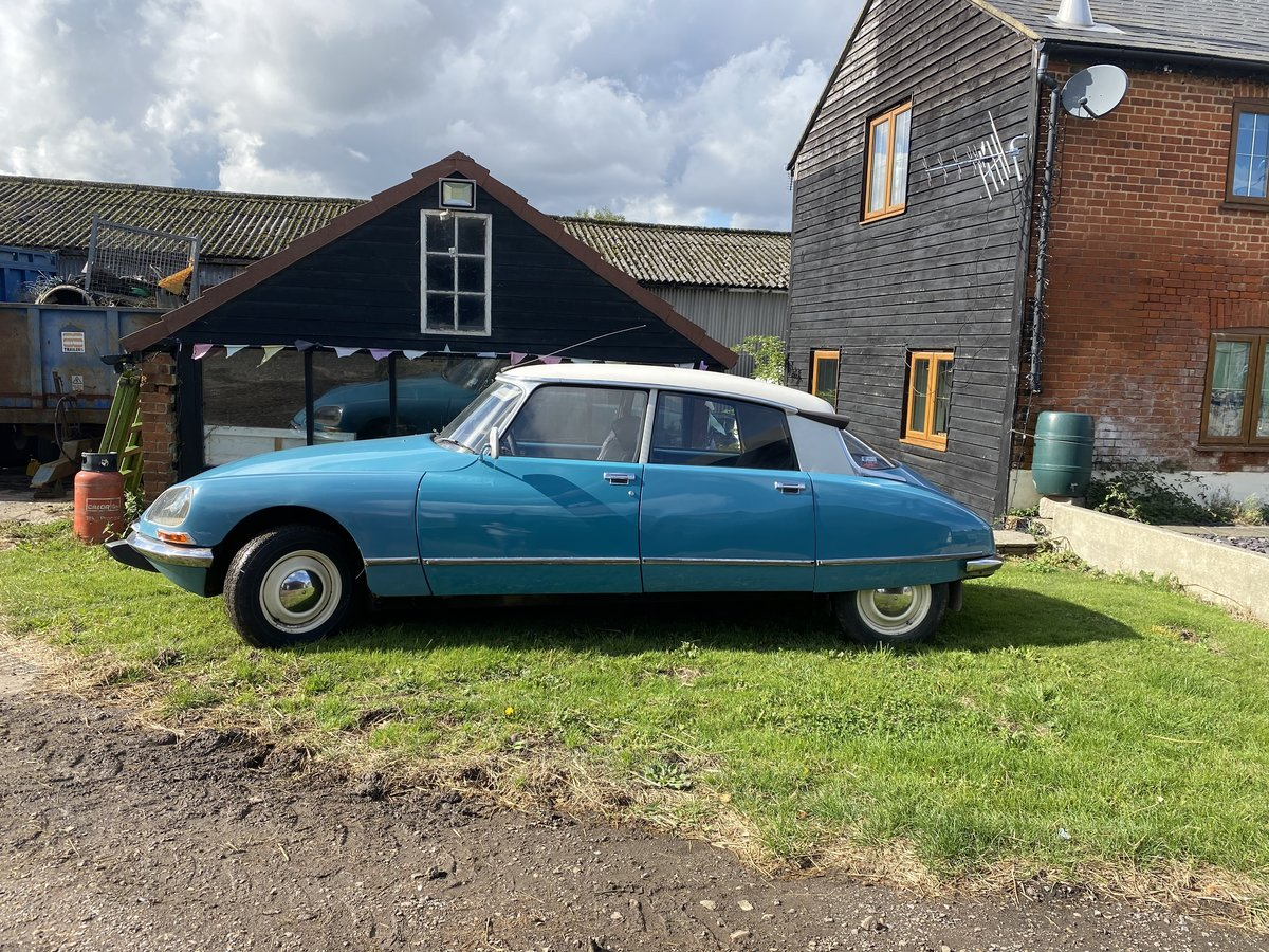1973 Citroen DS 19 LHD for auction 28th/29th April For Sale by Auction (picture 1 of 4)