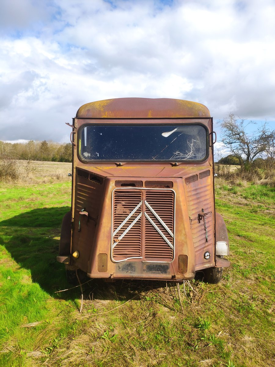 1965 Original Classic Citroen Hy Type 72 Van - LHD For Sale (picture 1 of 6)