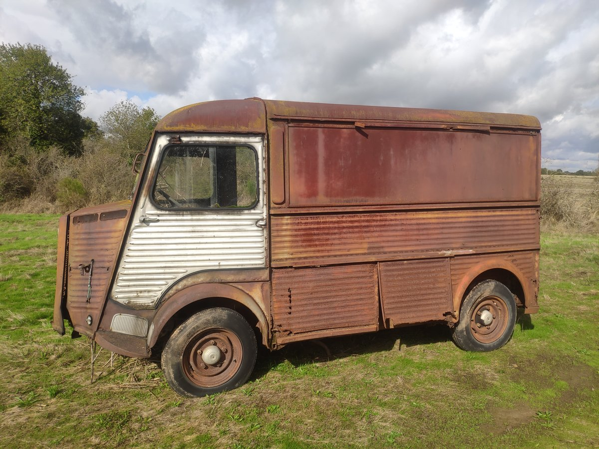 1965 Original Classic Citroen Hy Type 72 Van - LHD For Sale (picture 2 of 6)