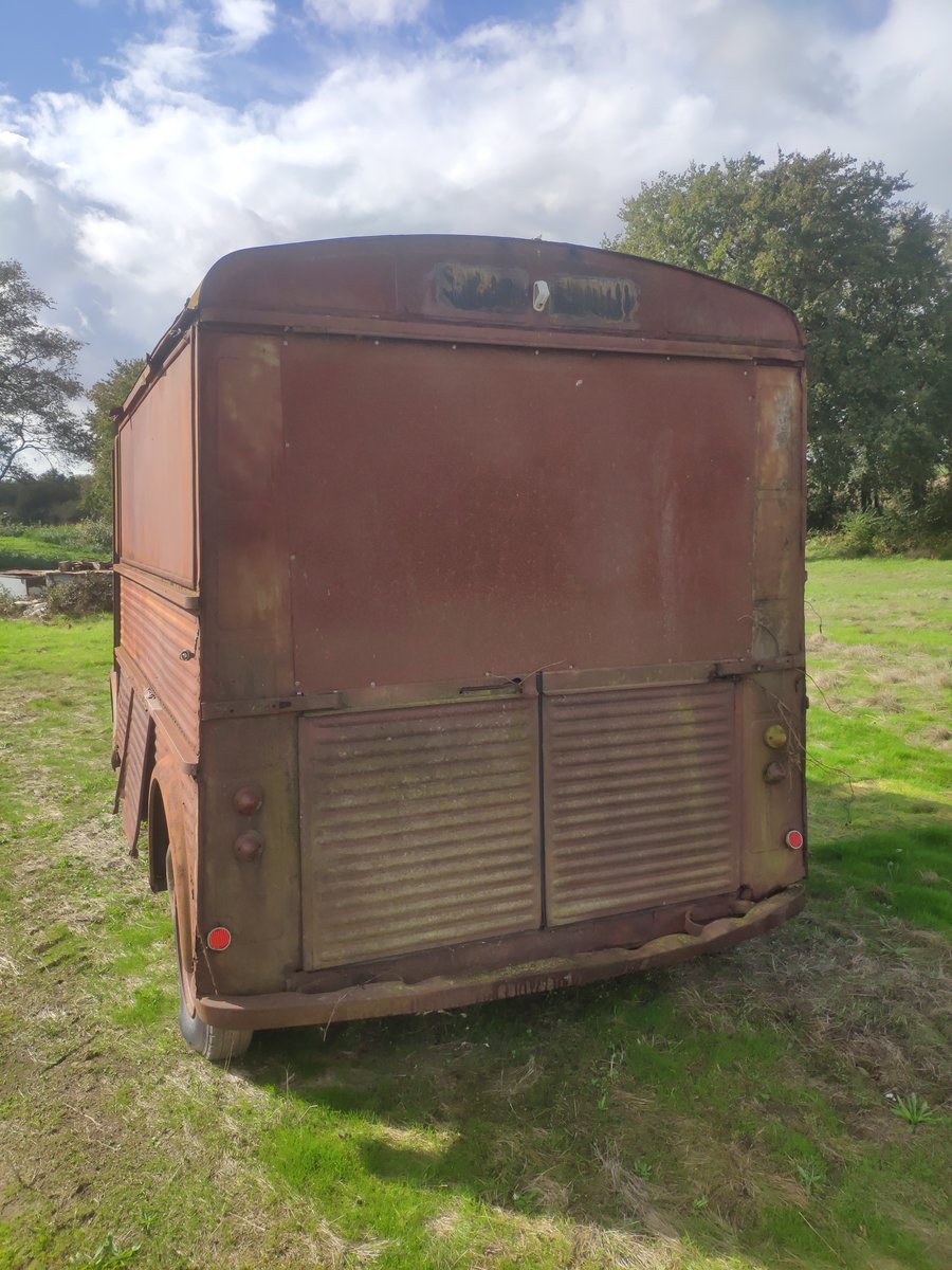 1965 Original Classic Citroen Hy Type 72 Van - LHD For Sale (picture 5 of 6)