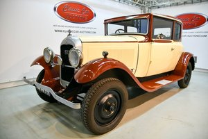 Picture of Citroën C6 Faux Cabriolet 1929 For Sale by Auction