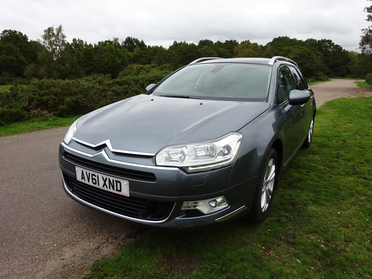 2012 Citroen C5 2.0HDi ( 160bhp ) EXCLUSIVE 6SPD MANUAL For Sale (picture 1 of 6)