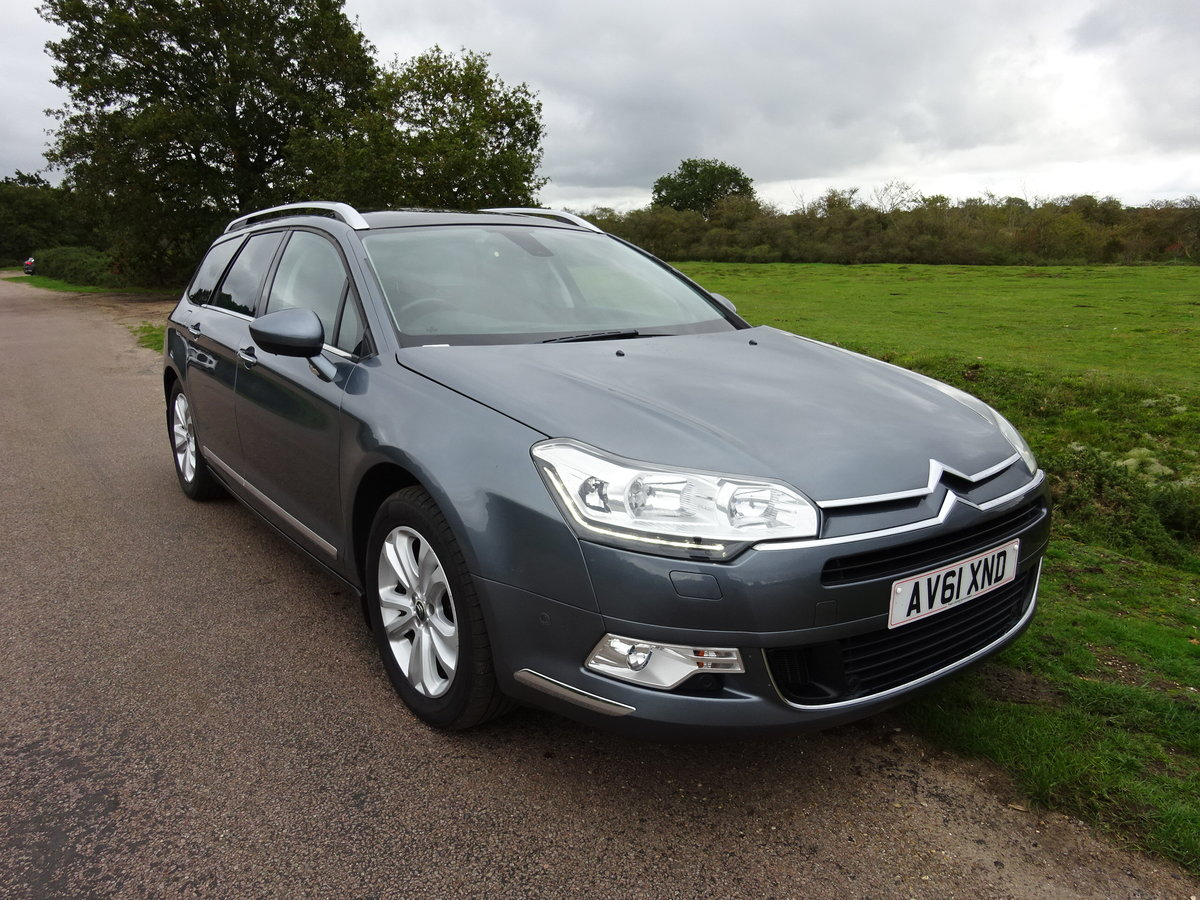 2012 Citroen C5 2.0HDi ( 160bhp ) EXCLUSIVE 6SPD MANUAL For Sale (picture 2 of 6)