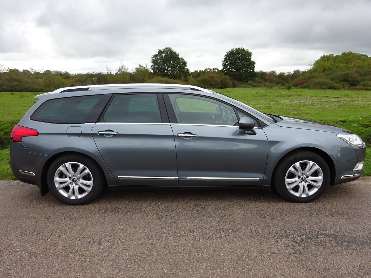 2012 Citroen C5 2.0HDi ( 160bhp ) EXCLUSIVE 6SPD MANUAL For Sale (picture 3 of 6)