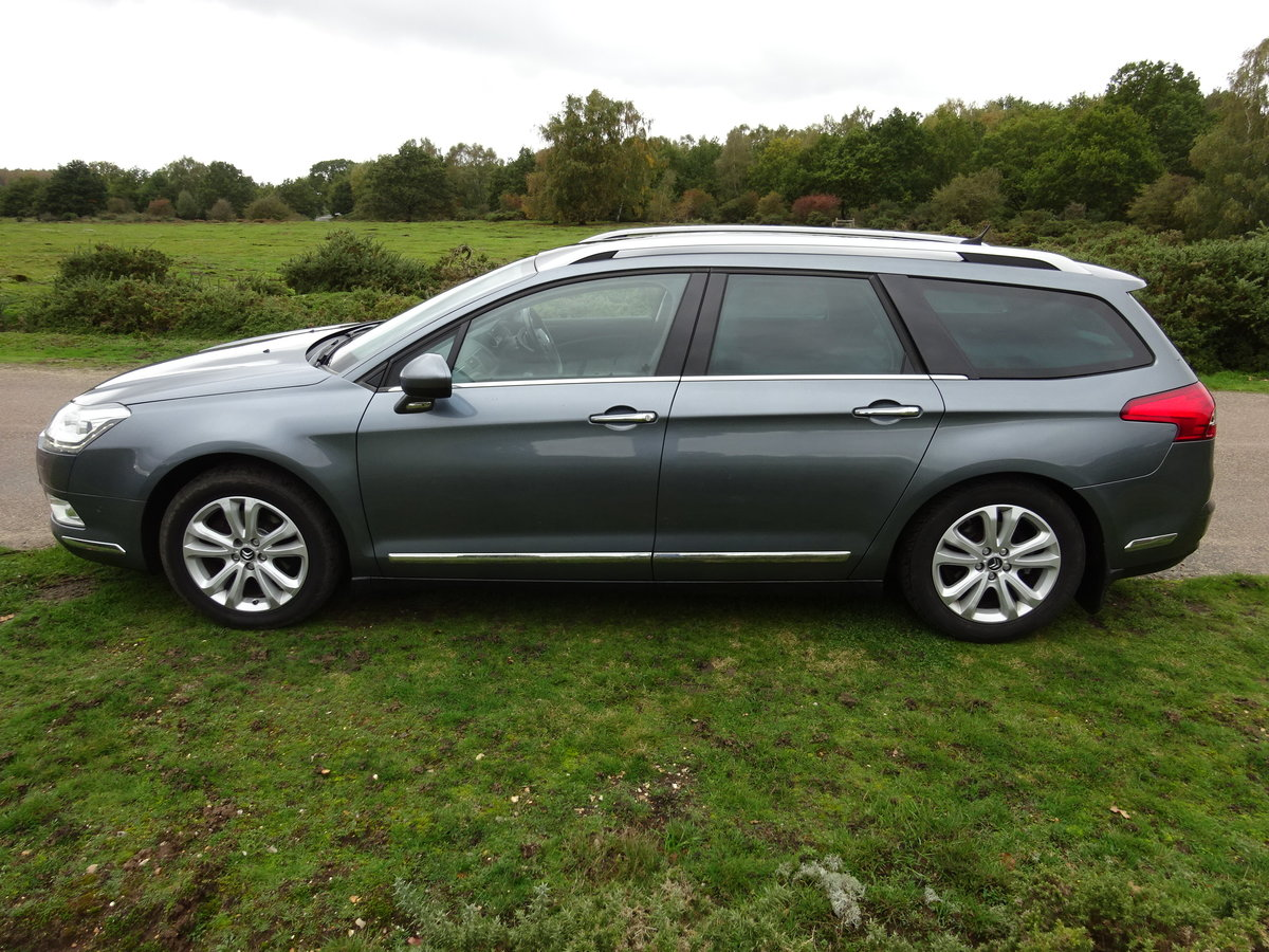2012 Citroen C5 2.0HDi ( 160bhp ) EXCLUSIVE 6SPD MANUAL For Sale (picture 4 of 6)