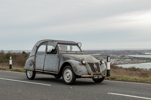 Citroen 2CV AZ rare long boot model