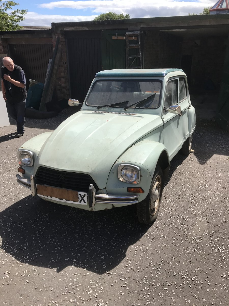 1982 Citroen Dyane 6 for project SOLD (picture 1 of 6)