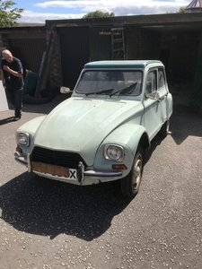Citroen Dyane 6 for project