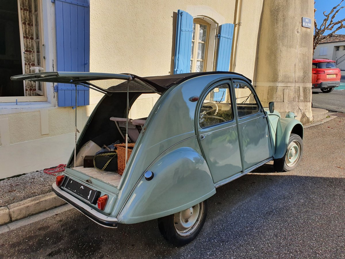 Picture of 1963 Citroën 2cv MIXTE/ENAC commerciale! For Sale
