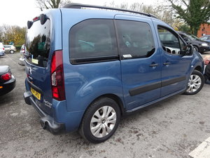 64 PLATE BERLINGO MPV WHEELCHAIR TRANSPORTER 70,000 MILES